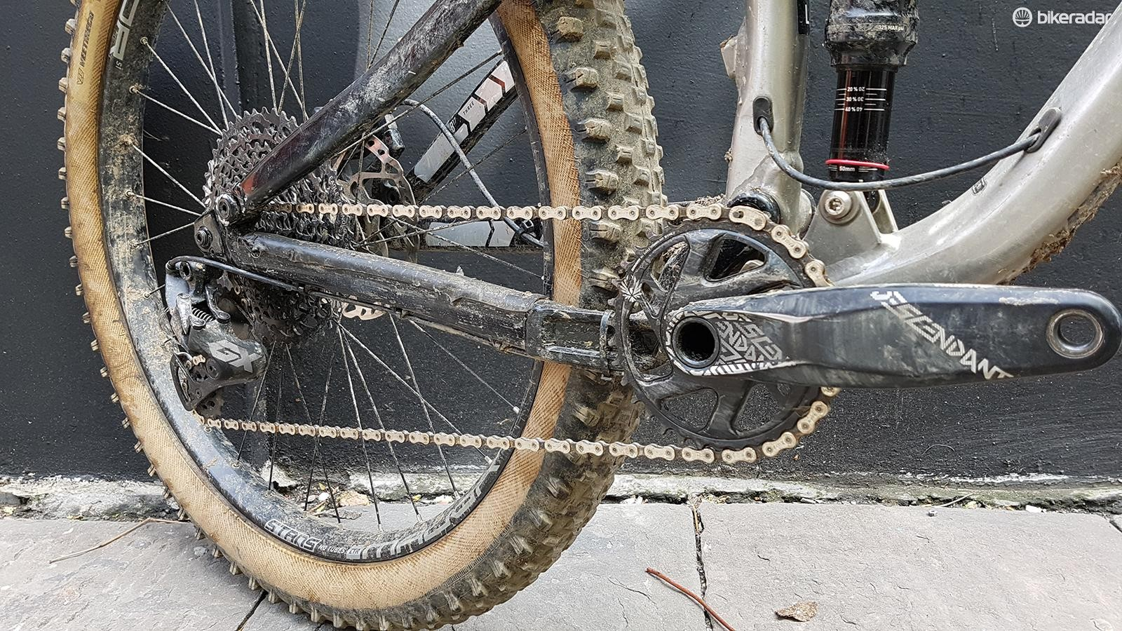 The spec on the B17 includes SRAM's GX Eagle groupset