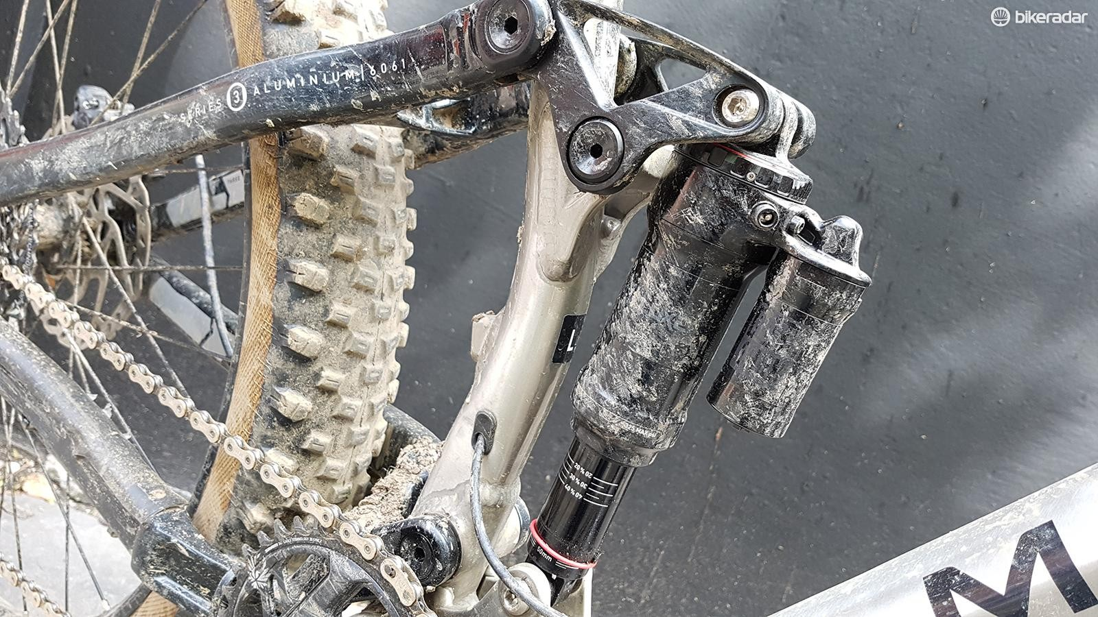 The RockShox Super Deluxe RC3 is a quality damper