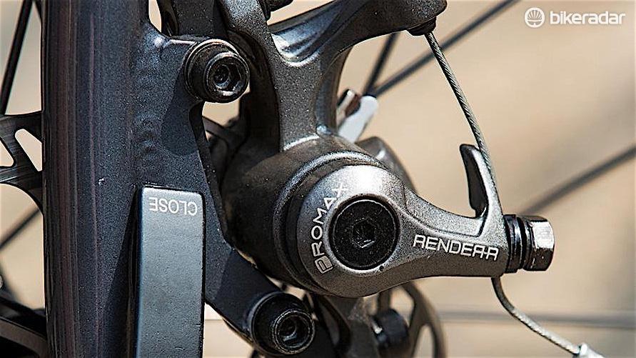 Promax Render mechanical disc brakes