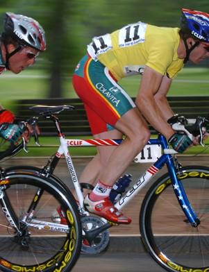 Mark McCormack racing a Felt a few years ago.
