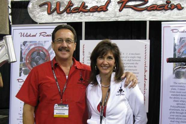 The late Mark Reynolds and his wife Margo Maida.