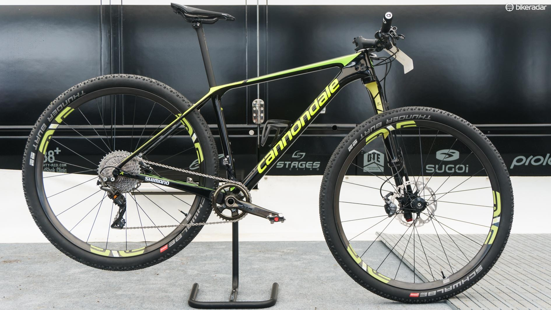 Maxime Marotte raced a new Cannondale F-Si to fourth place this weekend