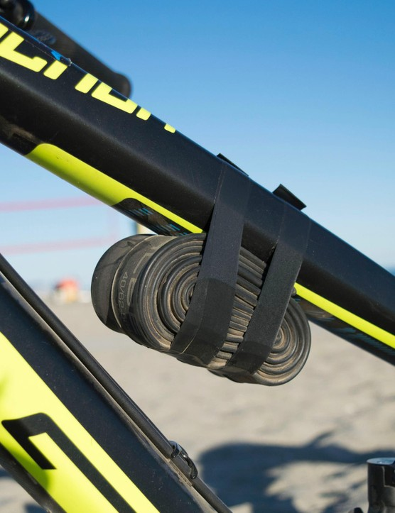 Would it even be Enduro without a tube strapped to the frame?
