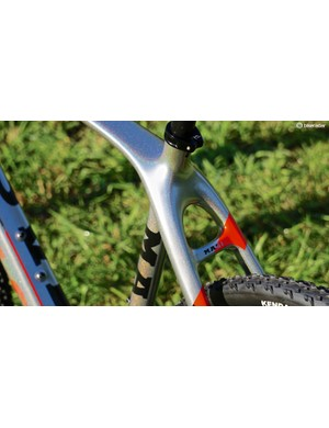 Of the current crop of 'cross bikes we are testing, Masi is the only one with a bridged seatstay