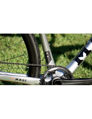 1x or 2x is your option with a removable front derailleur braze-on