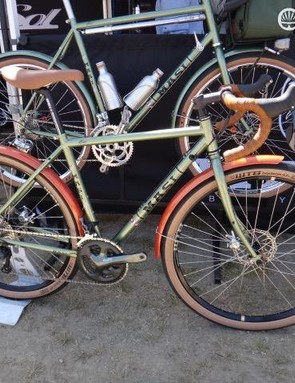 Masi's Randonneur bike is a bargain at $1,300 with Tiagra parts and WTB Road Plus 650b tires and rims