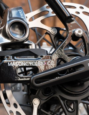 A closer look at the thru-axle/flat-mount dropouts collaboration from Mason and Bear