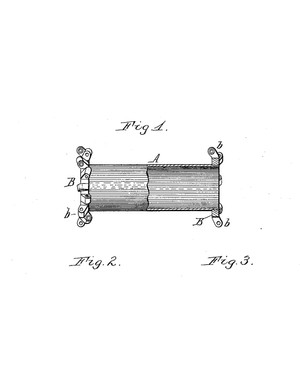 The drawings in the original patent are absolutely delightful