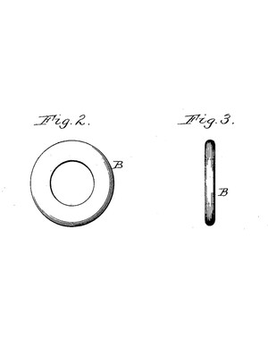 Mather gives detailed instructions on manufacturing his flanges, beginning with stamped-out steel rings
