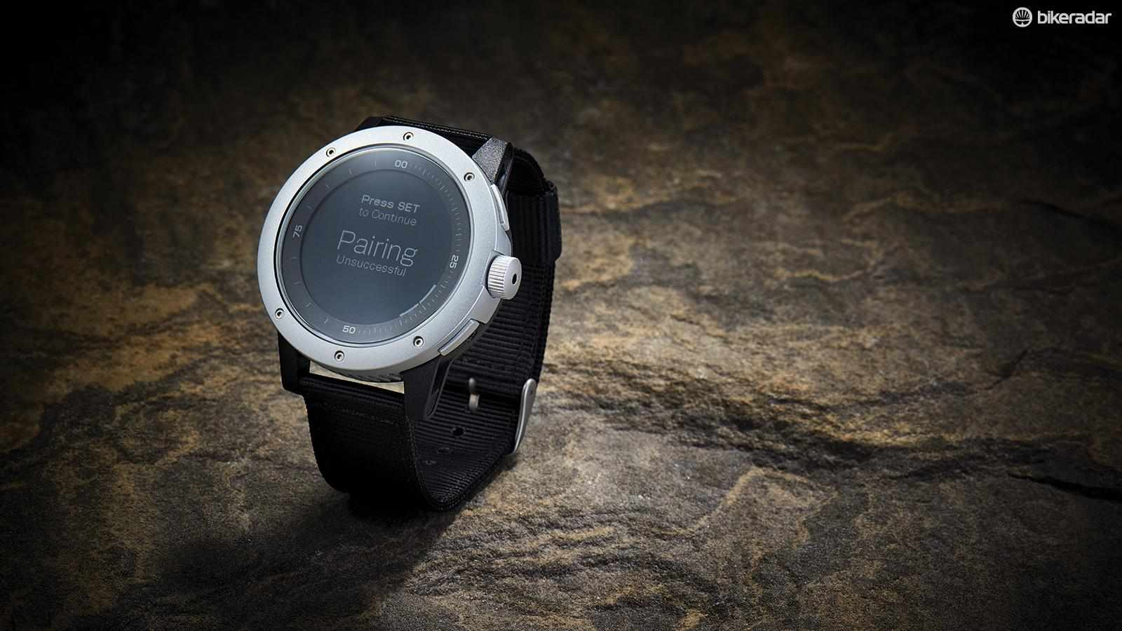Powered from your body heat via thermoelectric generators housed within the 15mm deep case