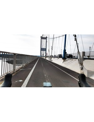 The Severn Bridge is a delight when the weather's good