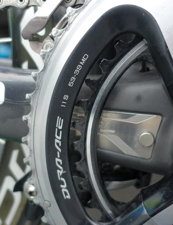 An SRM magnet, but no SRM power meter here