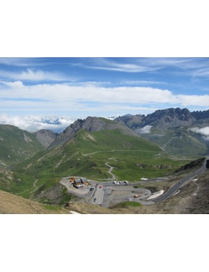 Fantastic views from the Galibier