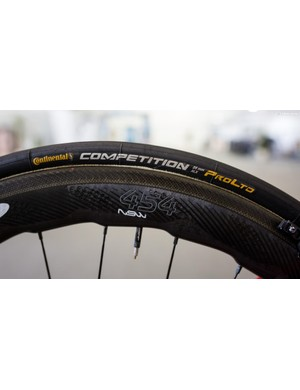 Lammertink is rolling on Continental Competition Pro LTD tubs