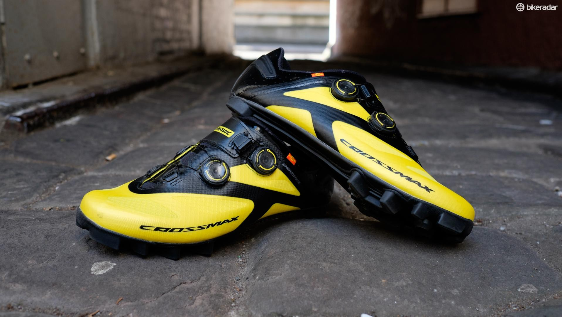 Some flashy kicks designed for World Cup racers