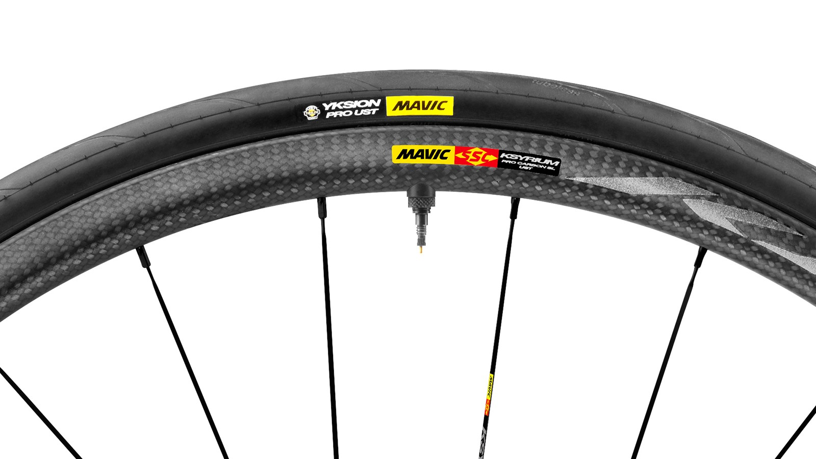 Mavic Road UST is a new tubeless system spanning Mavic's 700c range