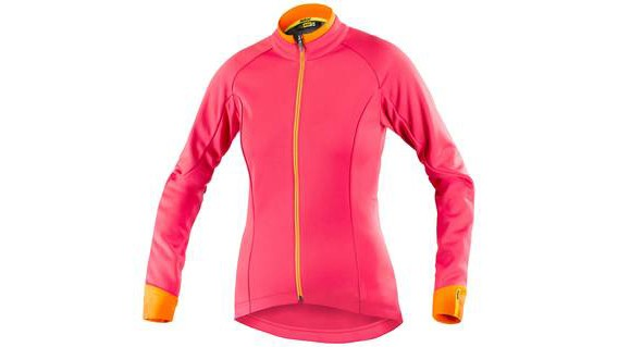This colourful jacket from Mavic is exceedingly Euro, but we kind of like it