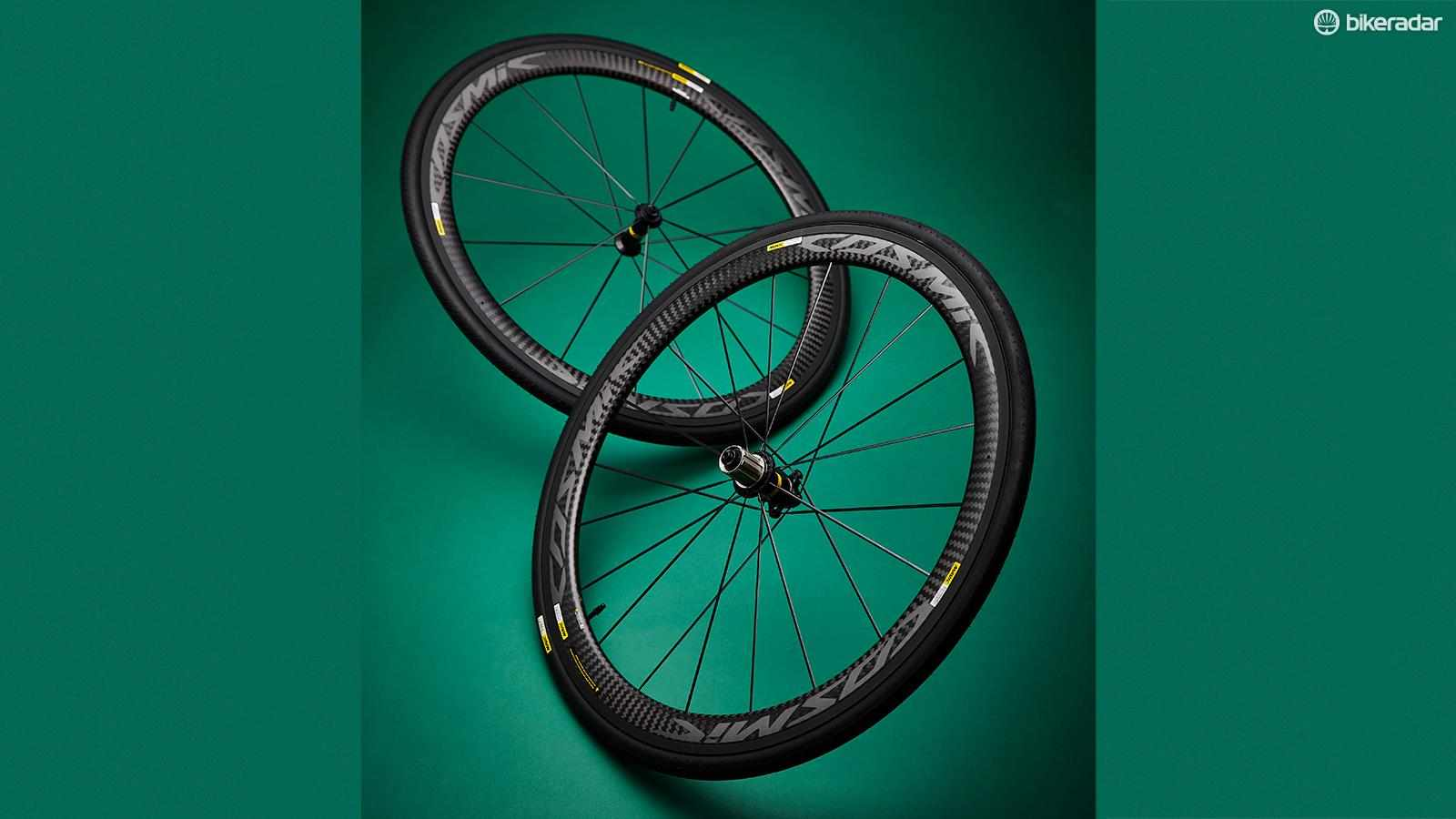 Mavic Cosmic Carbon Pro Exalith wheels