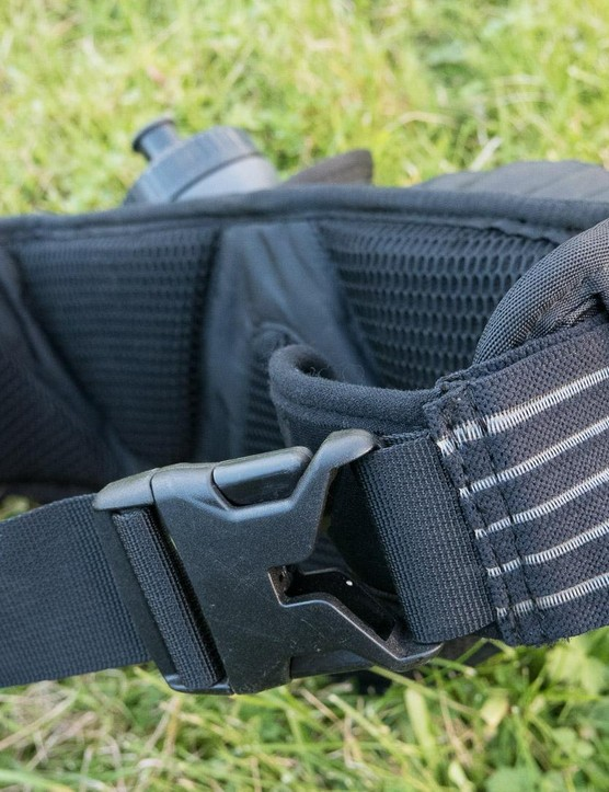 The broad waistband is elasticated, which really helps with comfort and security