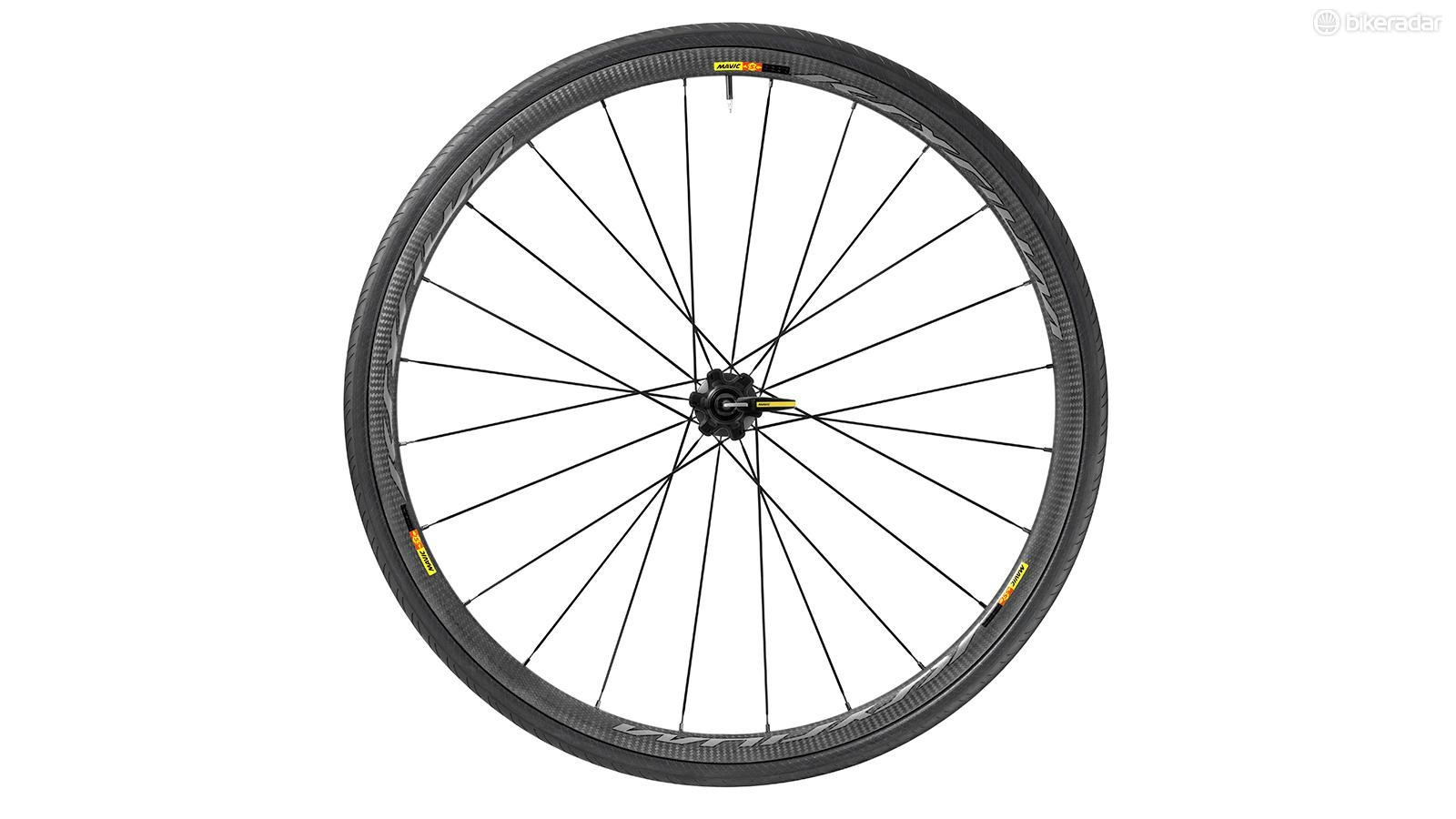 Mavic has entered the full-carbon game with the  Ksyrium Pro SL T
