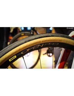 Mavic's Open Pro rim is now wider and offered in a disc-specific version
