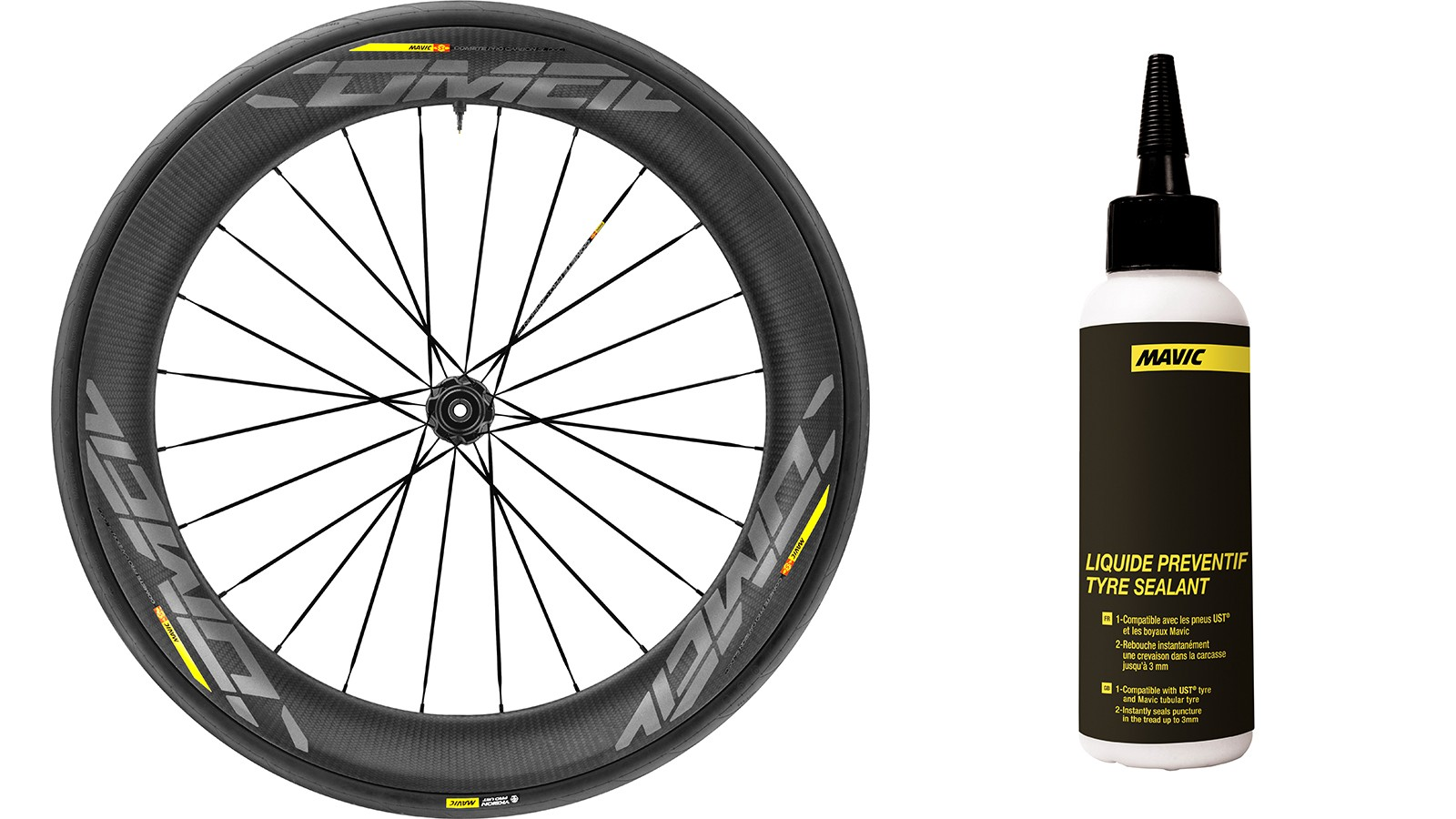 Mavic claims its Road UST system is 15% faster in terms of rolling resistance than a comparable clincher/tube set-up