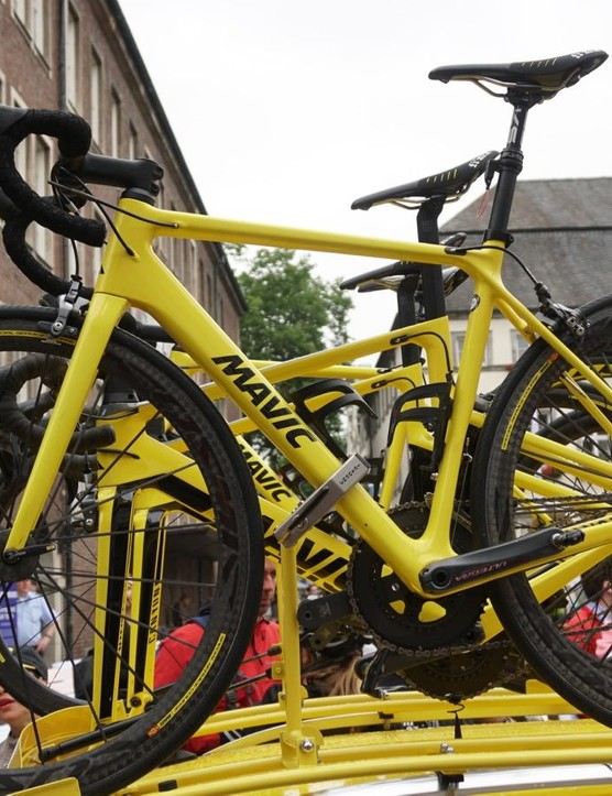 Each of the dropper bikes has one of the major pedal systems: Shimano, Look and Speedplay