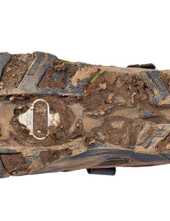The shoe's Contragrip sole