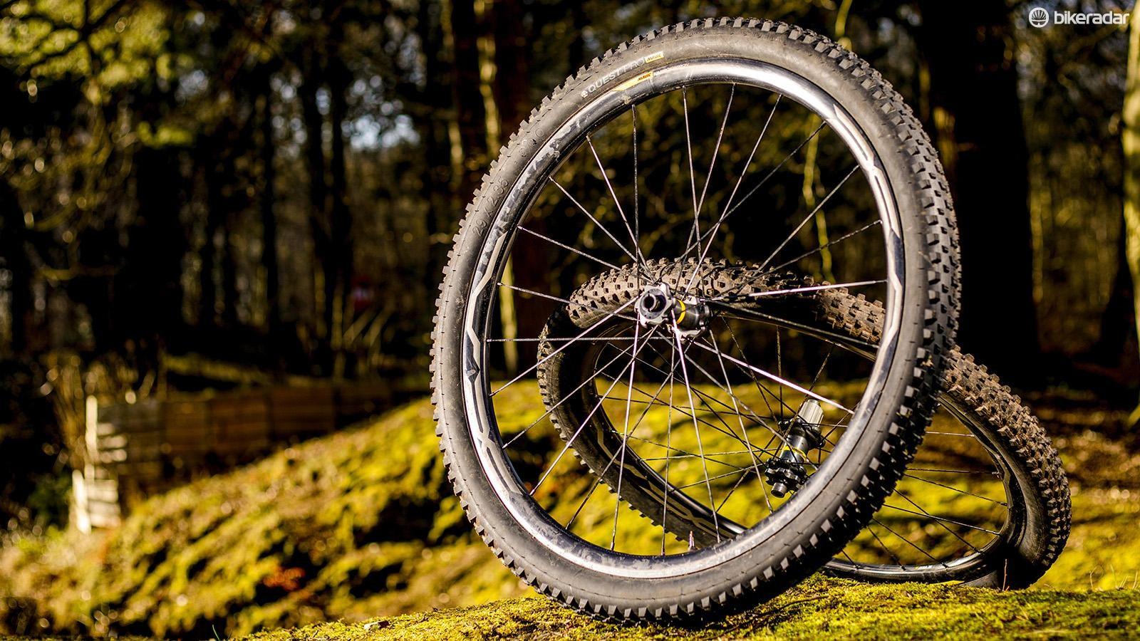 Mavic's XA Pro Carbon wheelset