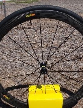 Mavic debuted its revamped Cosmic Pro Carbon SL wheels last month. Sea Otter was the first chance for many cyclists to see them in person. The $2,199 wheelset comes with 25mm Mavic tires and is available in 40 and 25mm depths, rim and disc brake options.