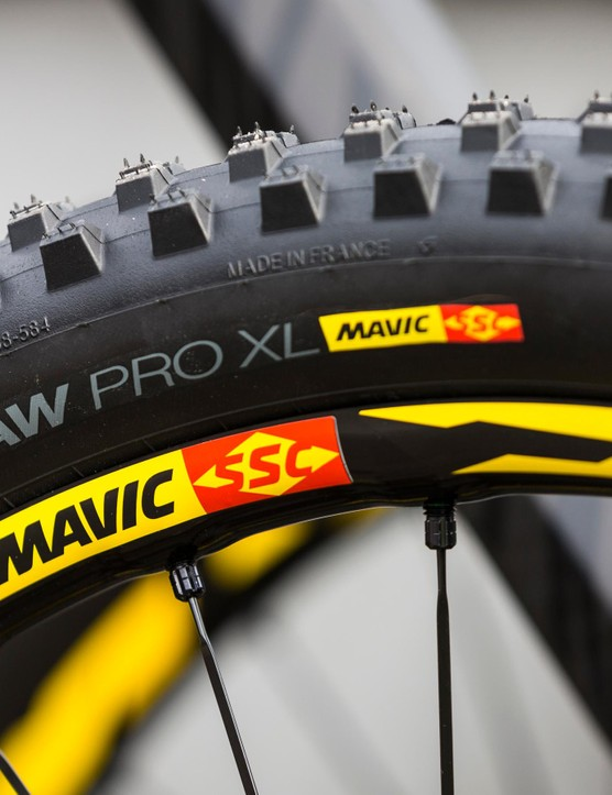 The Deemax Pro wheelset is designed as a tyre and wheel system