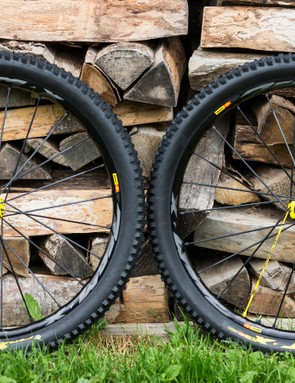The 2018 Mavic Deemax Pro enduro wheelset