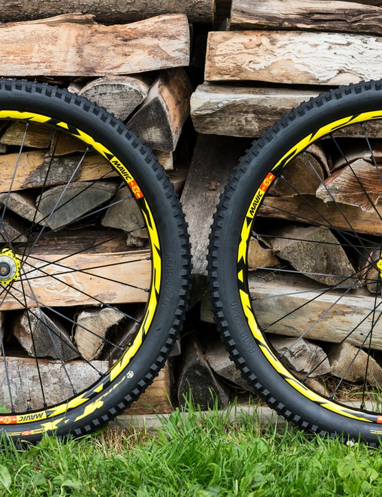The 2018 Mavic Deemax DH wheelset