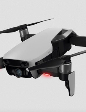 The Mavic Air records in ultra high definition, and has the capacity for slo-mo and other features