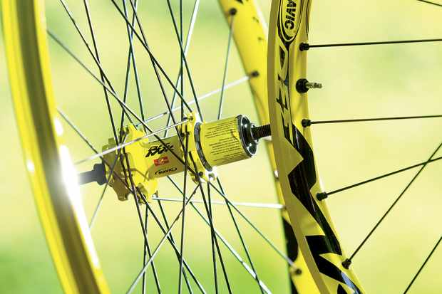 Even with only 28 spokes, this is a tough wheel.