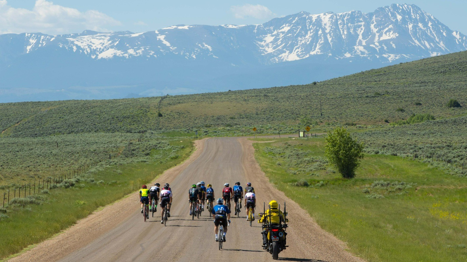 Some of the dirt roads we rode were smoother than asphalt, thanks to a treatment of magnesium chloride