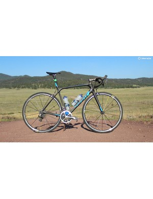 The Giant TCR Advanced SL 0 weighs 13.9lb stock in a M/L (57cm)