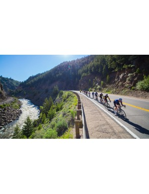 While there is more than 100mi of dirt, there is still more than 400 of asphalt, where a fast road bike will be rewarded