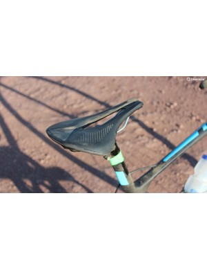 I find the Specialized Power saddle comfortable for a range of positions, especially when hunkered low over the handlebars