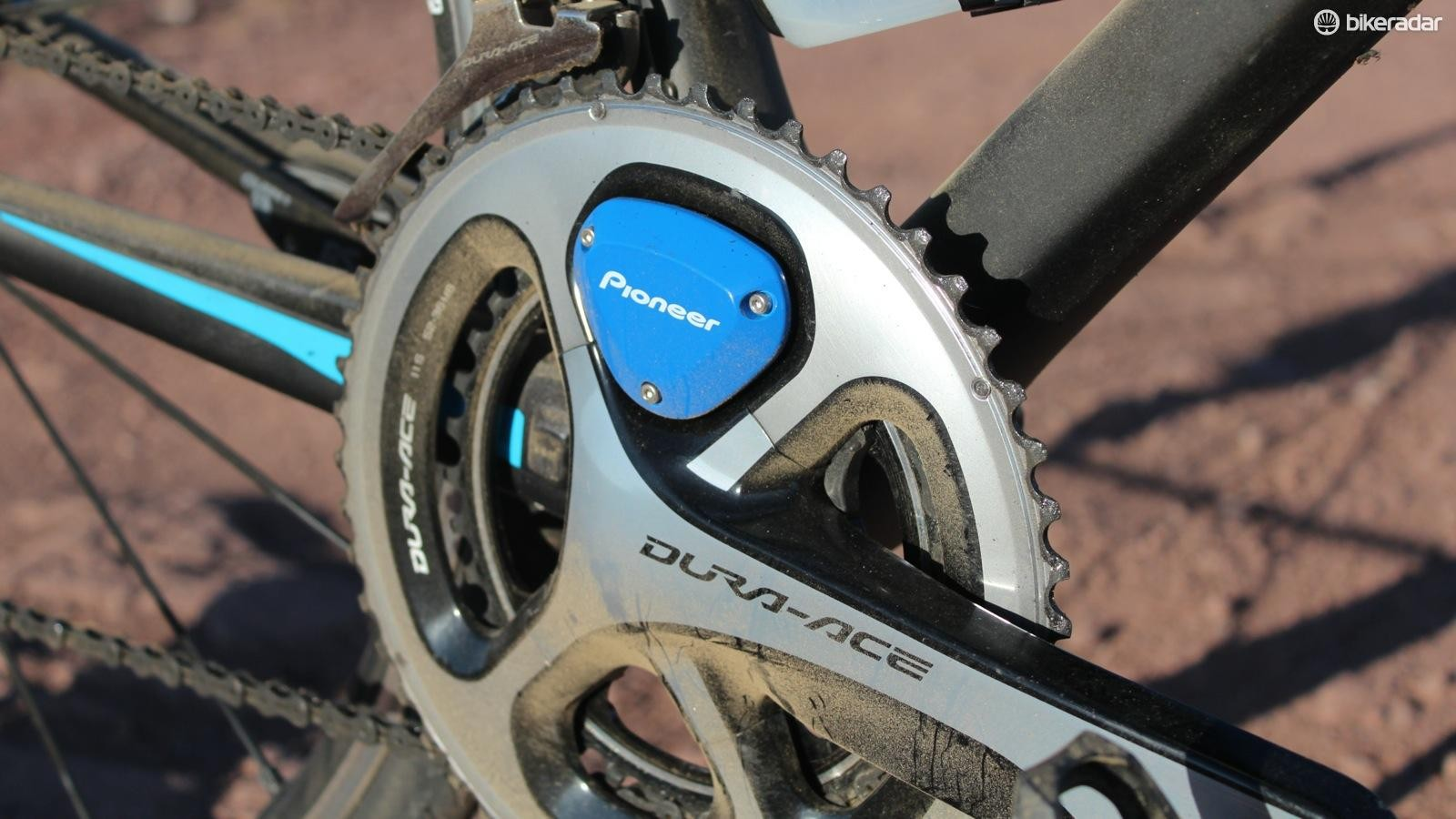 Pioneer's power meter gives true left/right measurement plus a unique 12-point measurement of where and how power is created