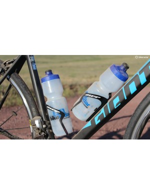 The Zipp SL cages are light, but they tried to jettison a bottle once or twice in choppy descents