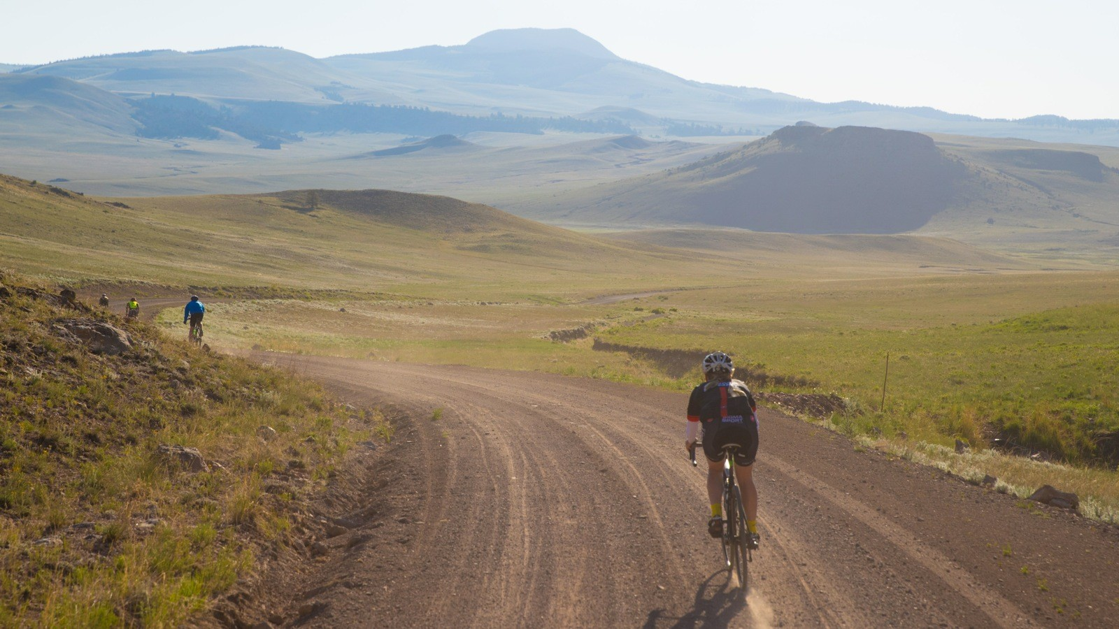 If you prefer to ride in thick auto traffic, don't come to the high dirt roads of the Rockies