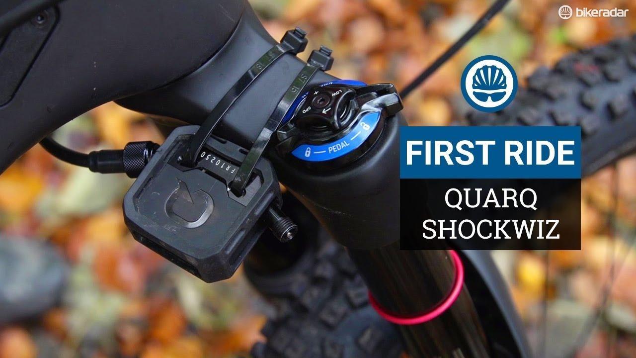 SRAM ShockWiz first ride