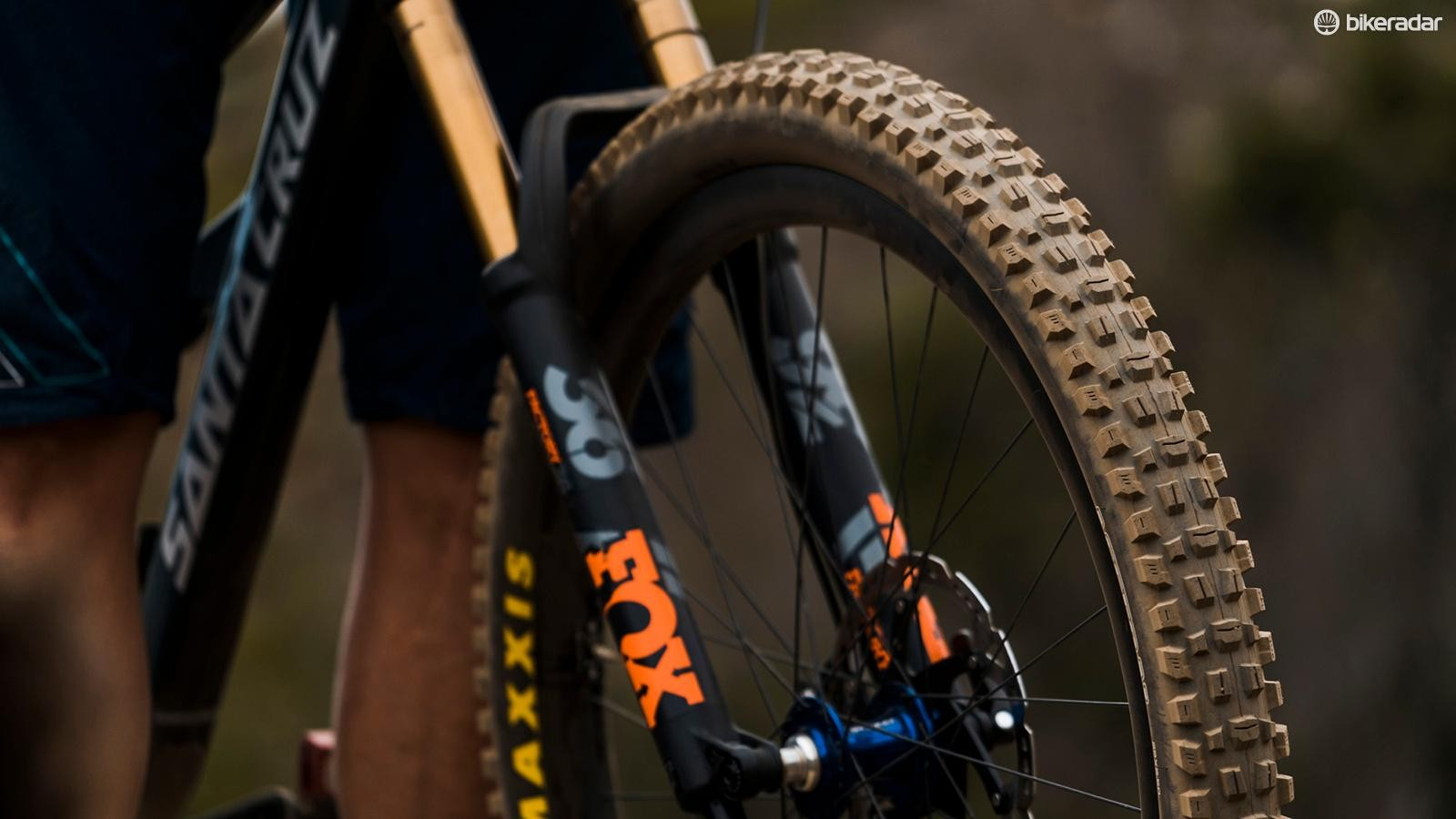 The Assegai blends elements of many popular Maxxis treads into one aggressive tire