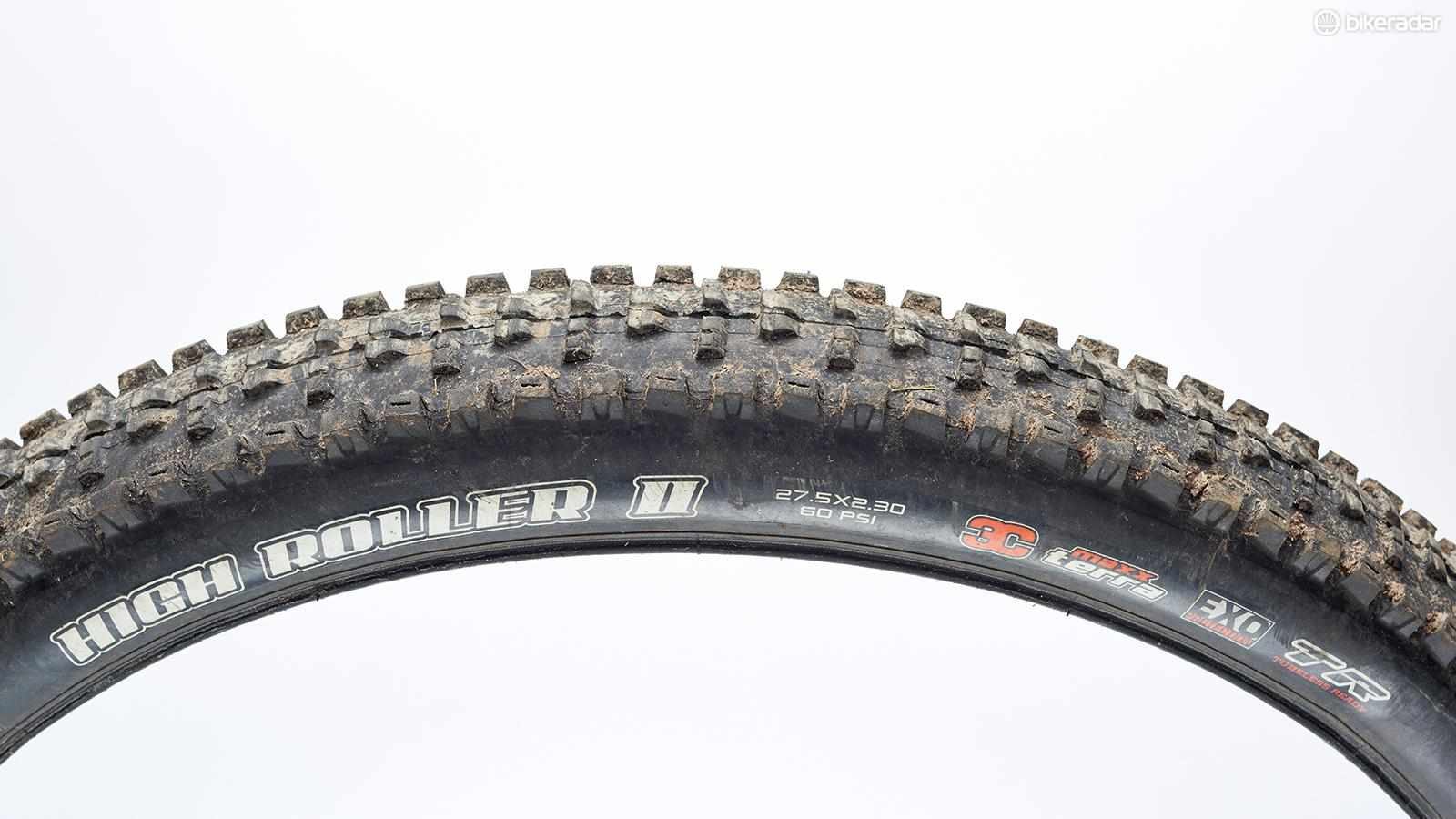 Maxxis's High Roller II EXO TR treads pack outrageous levels of traction