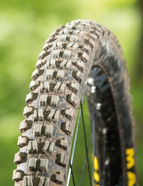 The Maxxis Minion DHF tyre has been around for a while, and remains a firm favourite