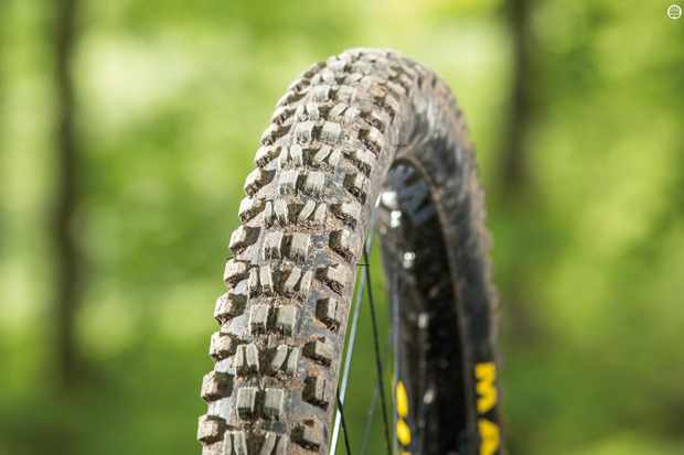Maxxis's Minion DHF Wide Trail 3C TR EXO 2.5in tyre
