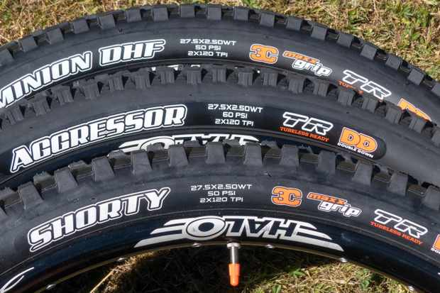 Wide Trail option now available on six of Maxxis' most popular tyre models