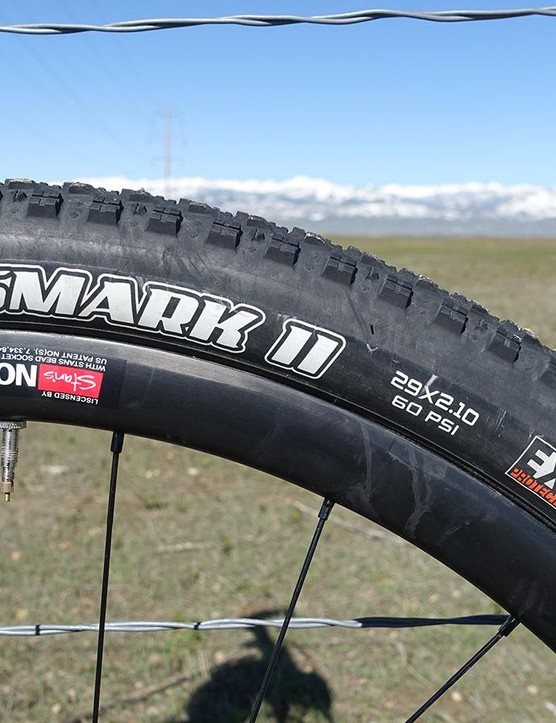 The updated Crossmark II draws from other tyre patterns in the Maxxis line