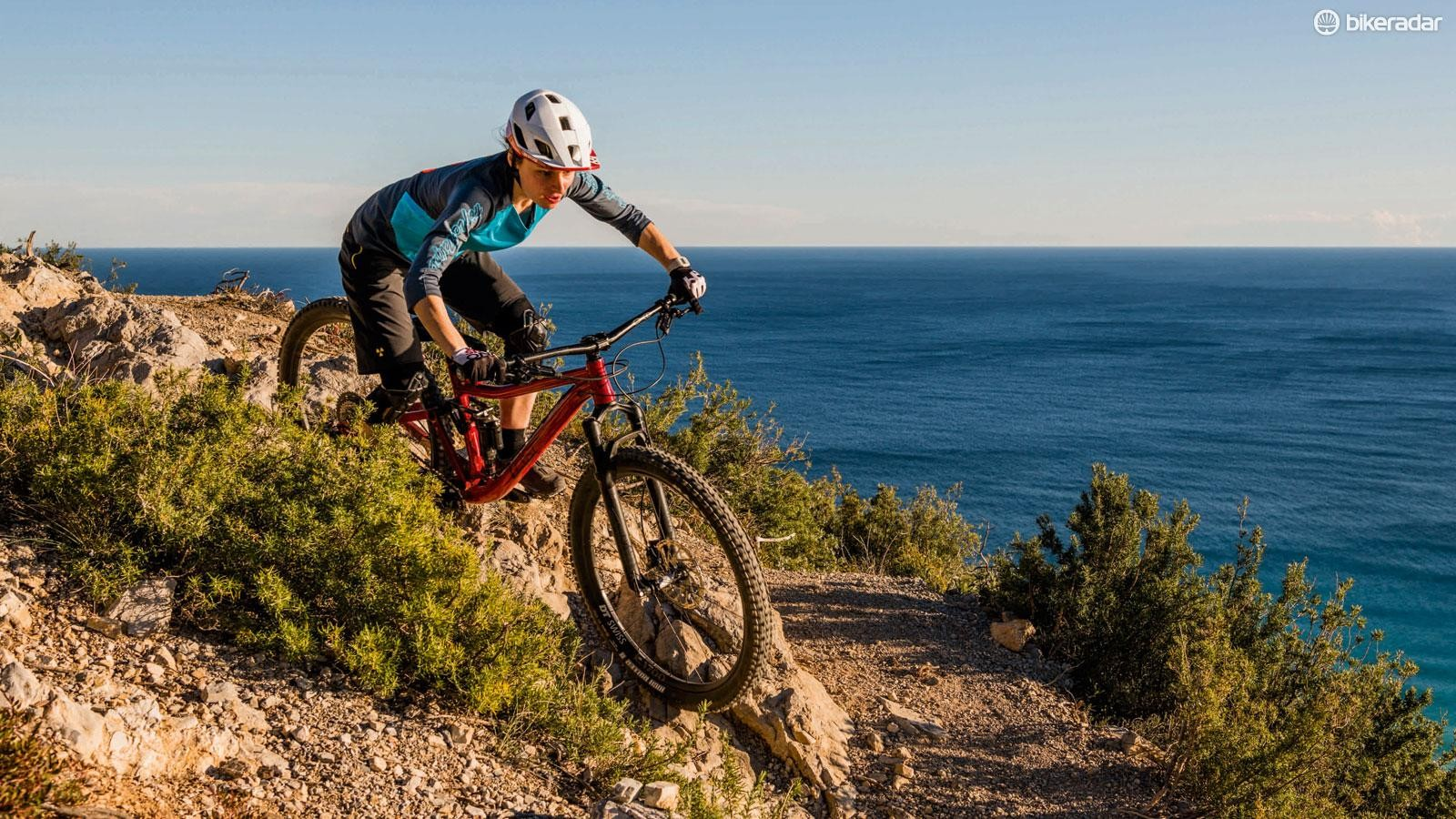 Tester Sarah at our final-stage analysis in Finale Ligure, Italy